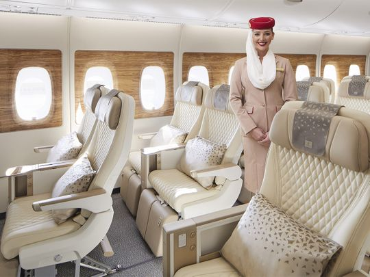 In Pictures: Emirates takes A380 experience to new heights, unveils Premium Economy plus enhancements across all cabins