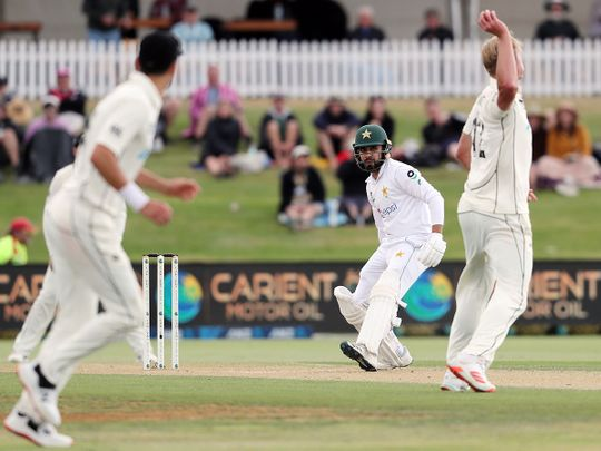 New Zealand's Kyle Jamieson fined for breach of conduct in first Test against Pakistan