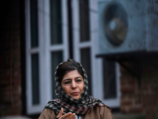 'Kashmir's special status was given by Indian constitution, not a political party': Mehbooba Mufti